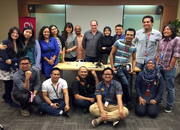 Group Photo at Astro Awani