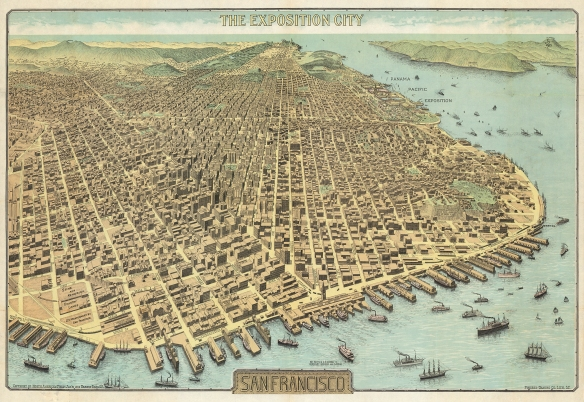 San Francisco, the Exposition City, by the North American Press Association. 1912