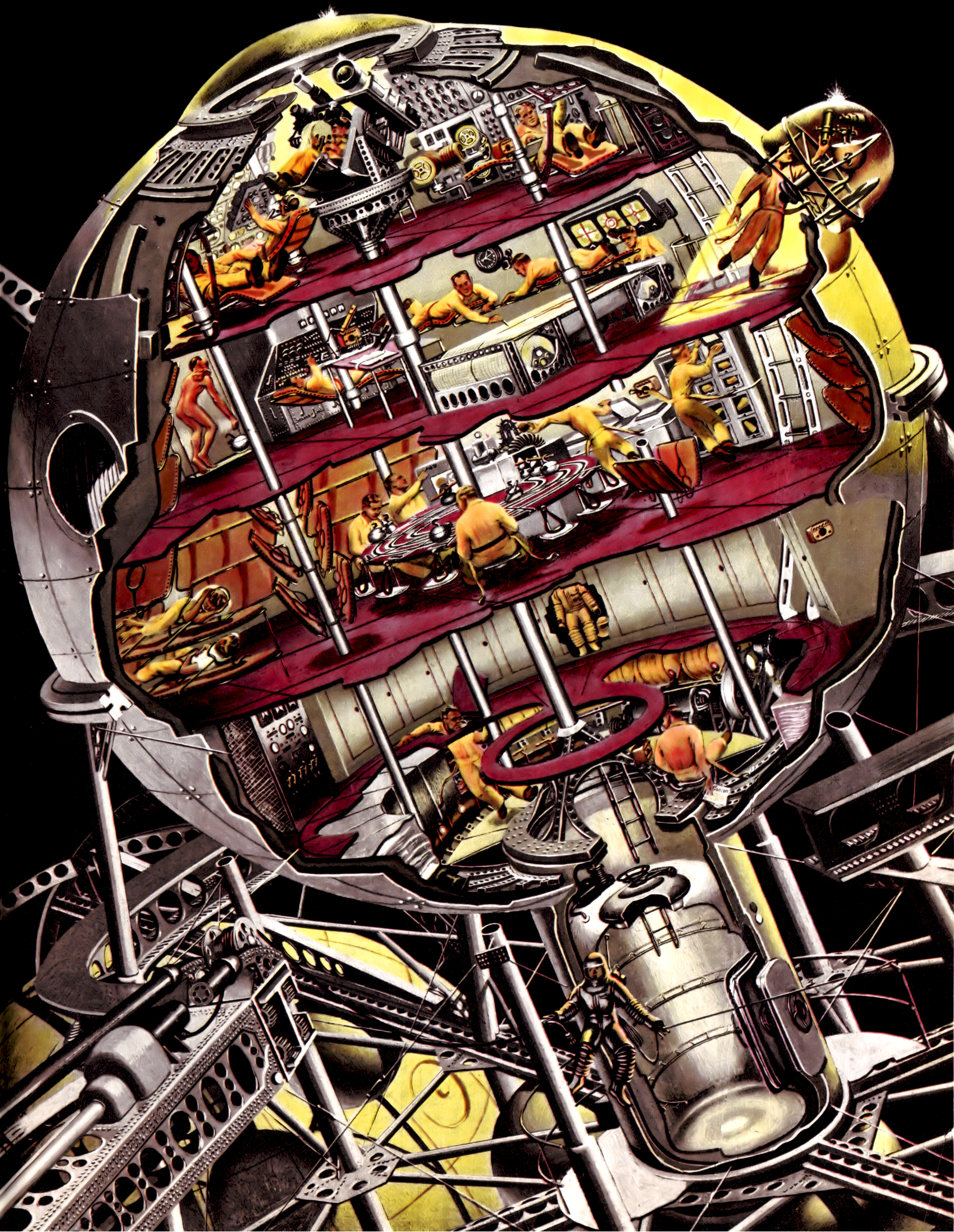 Collier 10.18.1952-p57-Spaceship for he Moon-2.jpg