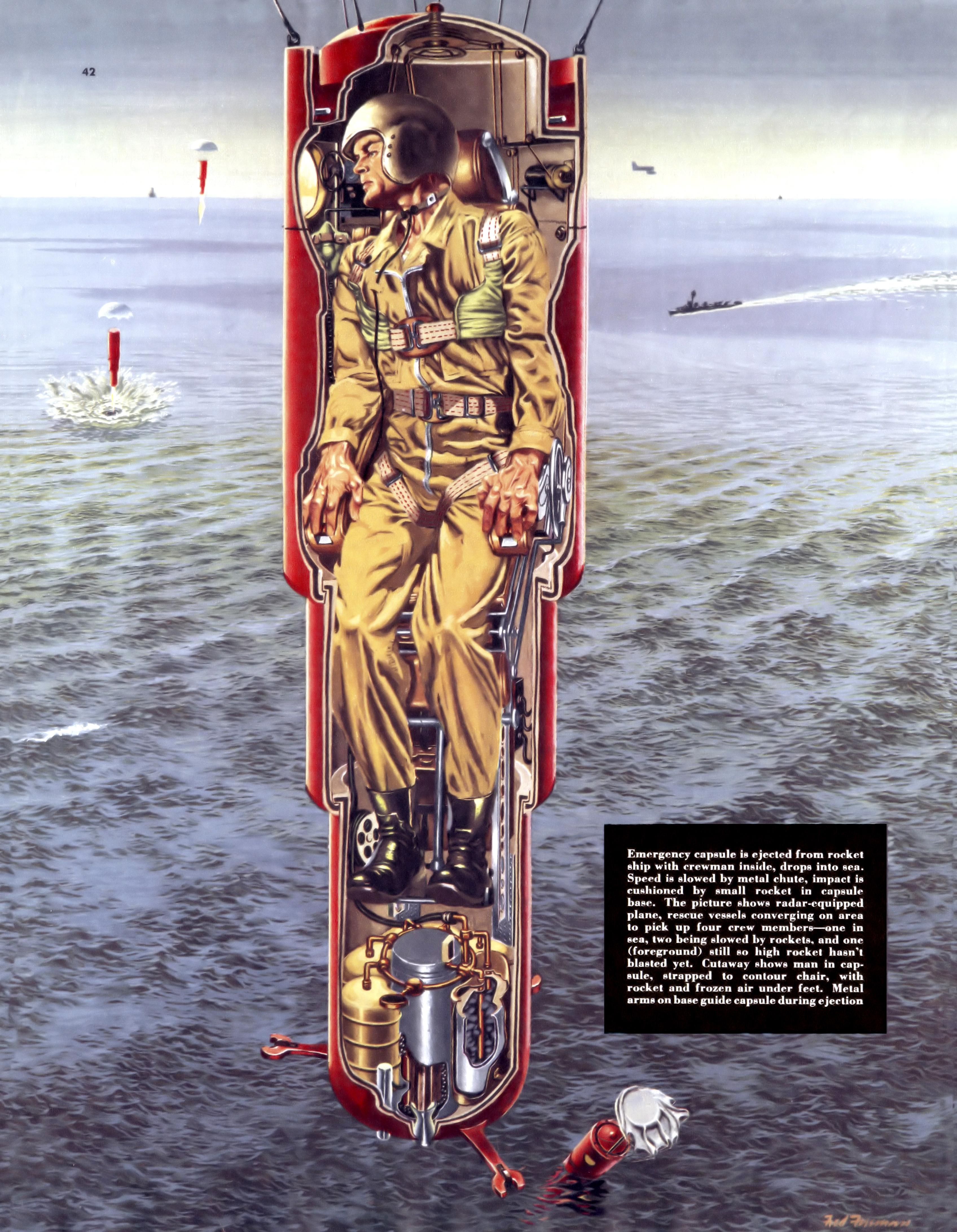 Collier 3.14.1953-p.43-Emergency in space travel.jpg