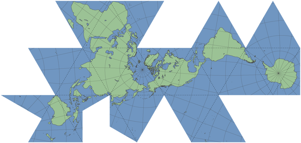 The Best World Map Projection 5w Blog