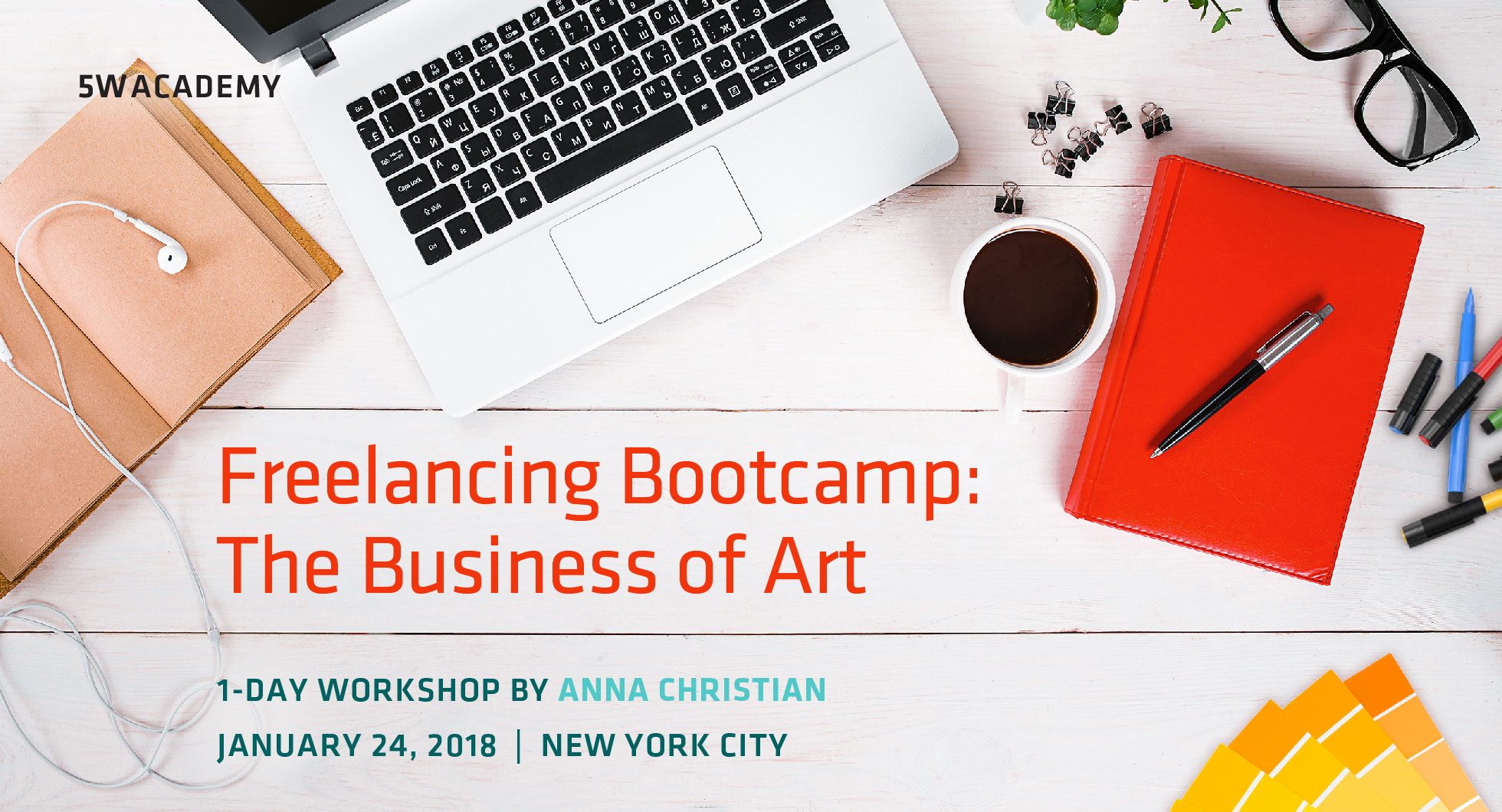 Our new workshop: Freelancing Bootcamp, the Business of Art